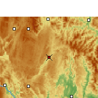 Nearby Forecast Locations - Libo - Map