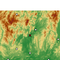 Nearby Forecast Locations - Rongshui - Map