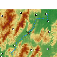 Nearby Forecast Locations - Quanzhou - Map