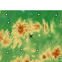 Nearby Forecast Locations - Xintian - Map