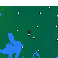Nearby Forecast Locations - Huaiyin Xian - Map