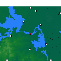 Nearby Forecast Locations - Jinhu - Map