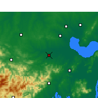 Nearby Forecast Locations - Shucheng - Map