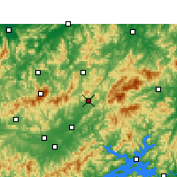 Nearby Forecast Locations - Jixi/ANH - Map