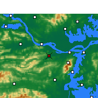 Nearby Forecast Locations - Ruichang - Map
