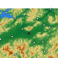 Nearby Forecast Locations - Jinhua - Map