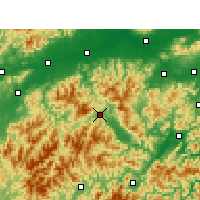 Nearby Forecast Locations - Suichang - Map