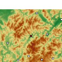 Nearby Forecast Locations - Longquan - Map