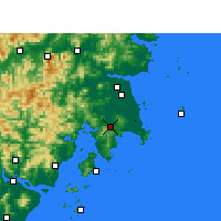 Nearby Forecast Locations - Wenling - Map