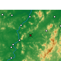 Nearby Forecast Locations - Yongfeng - Map