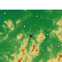 Nearby Forecast Locations - Yihuang - Map