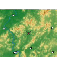 Nearby Forecast Locations - Xingguo - Map