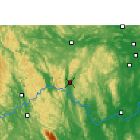 Nearby Forecast Locations - Xincheng/GXA - Map
