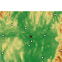 Nearby Forecast Locations - Shatang - Map