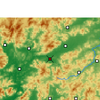 Nearby Forecast Locations - Shixing - Map
