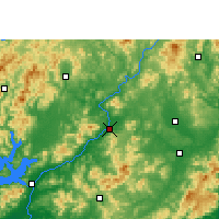 Nearby Forecast Locations - Longchuan - Map