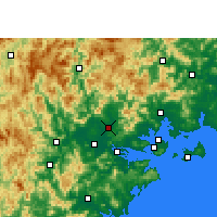 Nearby Forecast Locations - Changtai - Map