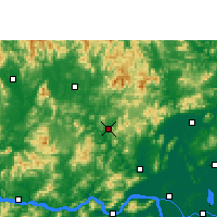 Nearby Forecast Locations - Guangning - Map