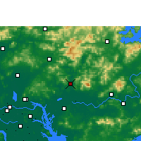 Nearby Forecast Locations - Zengcheng - Map