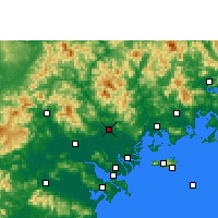 Nearby Forecast Locations - Chaozhou - Map