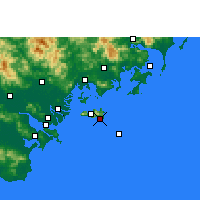 Nearby Forecast Locations - Yunao - Map