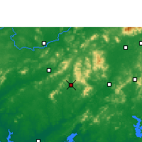 Nearby Forecast Locations - Pubei - Map