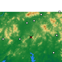 Nearby Forecast Locations - Luchuan - Map