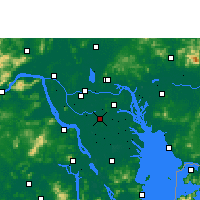 Nearby Forecast Locations - Shunde - Map