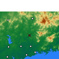 Nearby Forecast Locations - Gaozhou - Map