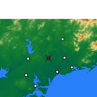 Nearby Forecast Locations - Huazhou - Map