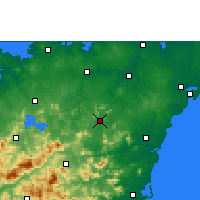 Nearby Forecast Locations - Tunchang - Map