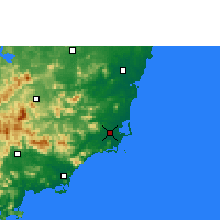 Nearby Forecast Locations - Wanning - Map