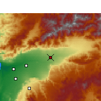Nearby Forecast Locations - Taroudant - Map