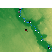 Nearby Forecast Locations - Asyut - Map
