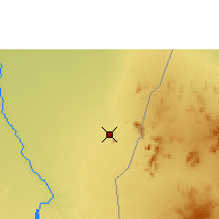 Nearby Forecast Locations - Kassala - Map