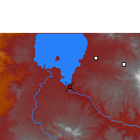 Nearby Forecast Locations - Bahir Dar - Map