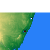 Nearby Forecast Locations - Mombasa - Map
