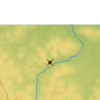 Nearby Forecast Locations - Moundou - Map