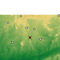 Nearby Forecast Locations - Akure - Map