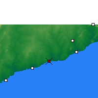 Nearby Forecast Locations - Saltpond - Map