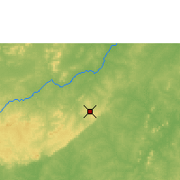 Nearby Forecast Locations - Bobo-Dioulasso - Map