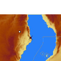 Nearby Forecast Locations - Nkhata Bay - Map