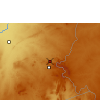 Nearby Forecast Locations - Chipata - Map