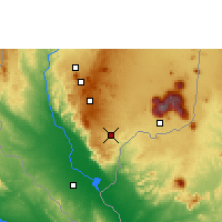 Nearby Forecast Locations - Thyolo - Map