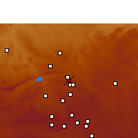 Nearby Forecast Locations - Pretoria - Map
