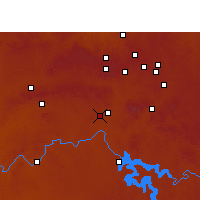 Nearby Forecast Locations - Vereeniging - Map