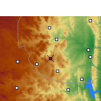 Nearby Forecast Locations - Hlatikulu - Map