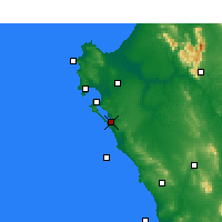 Nearby Forecast Locations - Geelbek - Map