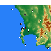 Nearby Forecast Locations - Milnerton - Map