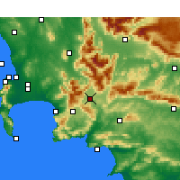 Nearby Forecast Locations - Vyeboom - Map